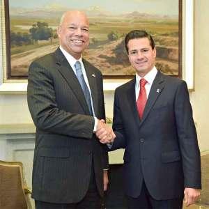 Se reunió Peña Nieto con Jeh Johnson en Los Pinos