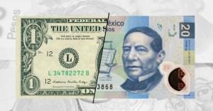 Dólar al mayoreo, recupera un poco del terreno perdido