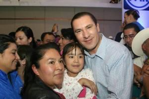 Rafa Moreno Valle participa en la Asamblea Estatal del PAN en Puebla
