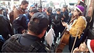 Detienen a músicos en el Centro Histórico de la CDMX