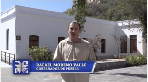 Rafa Moreno Valle supervisa Museo Regional de Cholula.