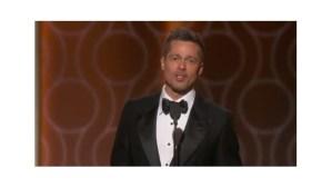 Brad Pitt aparece en su primera premiación tras separación de Angelina