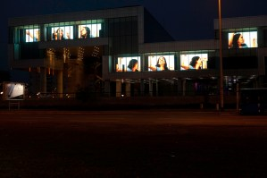 UT.(Hanna), Songul Boyraz, Media Facade, Museum of Contemporary Art, Zagreb (2011).