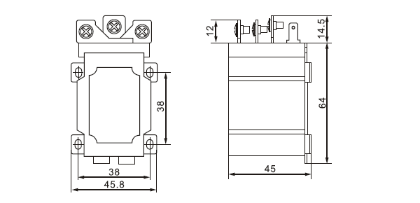 power relay jqx 60f