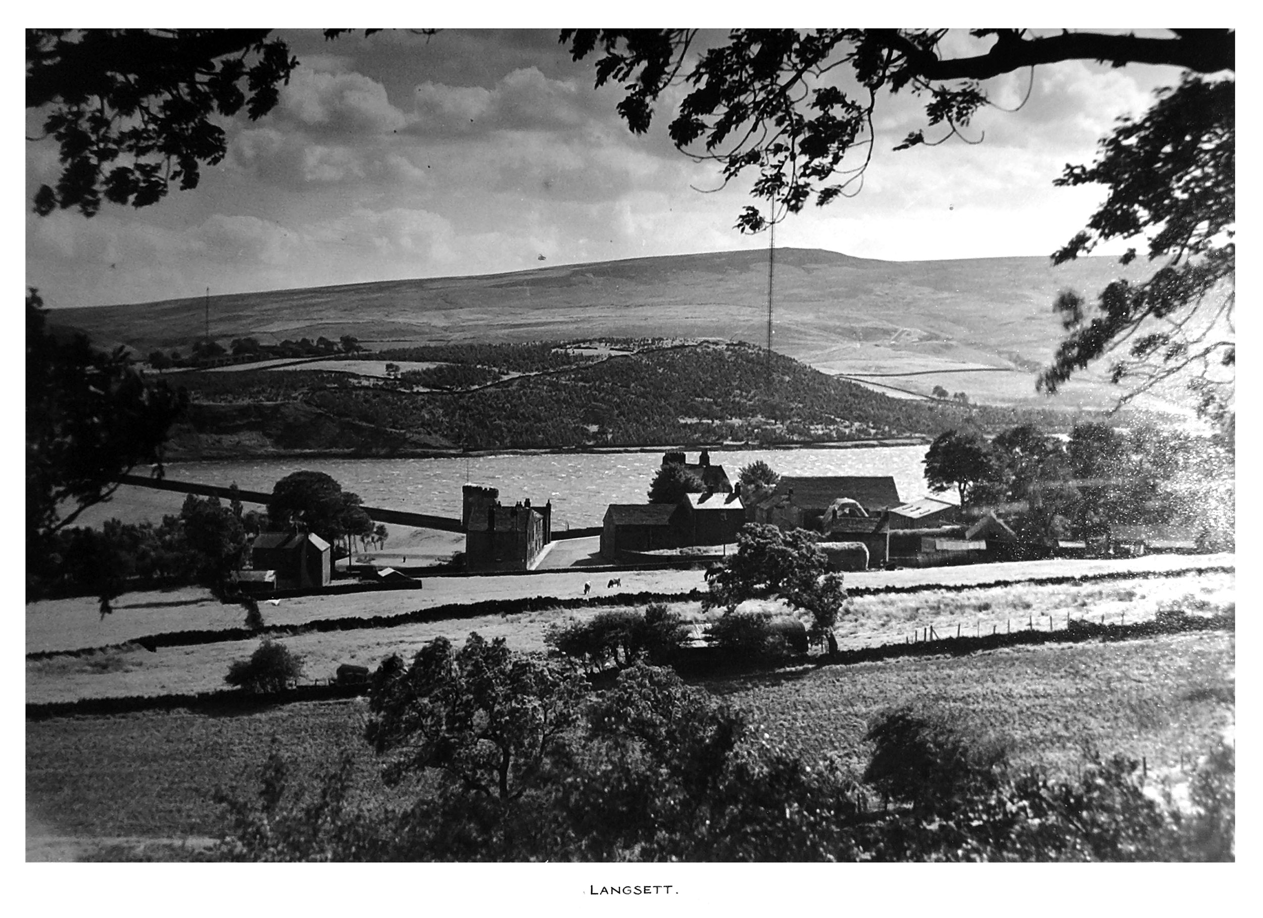 Langsett Dam Historical Photography 1942