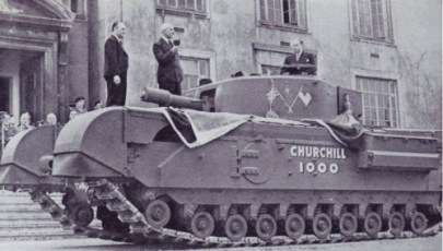 Newton Chambers 1000th Churchill Tank