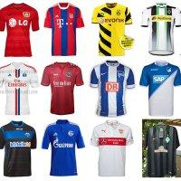 Alle Bundesliga-Trikots 2014/15
