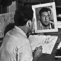 Disney-Zeichner checken Mimik im Spiegel