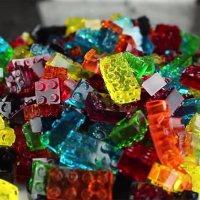 Weingummi-LEGO
