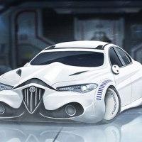 Star Wars-Charaktere als Autos