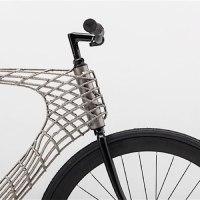 3D-gedrucktes Fahrrad