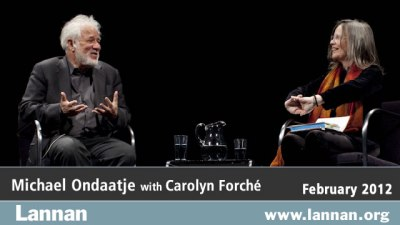 Michael Ondaatje with Carolyn Forché