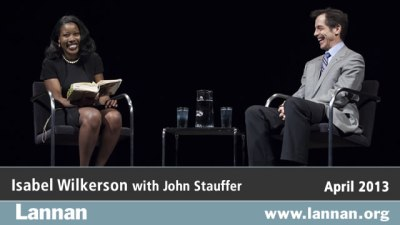 Isabel Wilkerson with John Stauffer