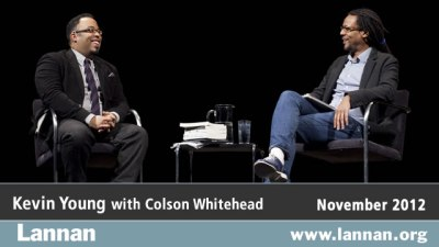 Kevin Young with Colson Whitehead