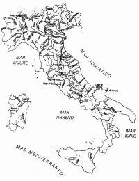 Cartina Geografica Italia Da Colorare