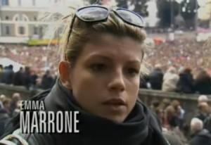 Emma Marrone ospite della puntata del 3 marzo 2011 di Annozero
