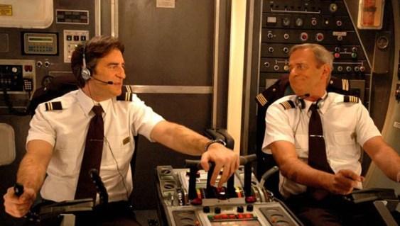 Max Tortora e Bertolino in una scena di Piloti su Rai2 Foto