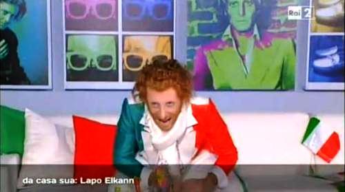 Ubaldo Pantani imitazione Quelli che il calcio RaiDue Foto