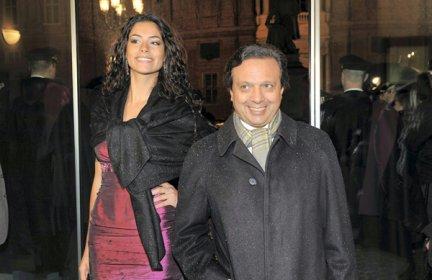 Piero Chiambretti e Federica Laviosa Foto