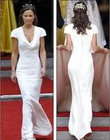 Philippa Middleton abito Alexander McQueen