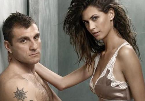 Foto di Bobo Vieri e l'ex velina Melissa Satta