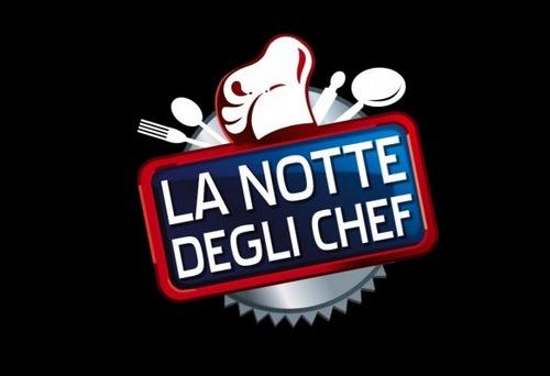 Logo La notte degli chef Canale5