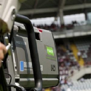 telecamera stadio