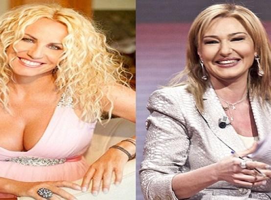 Antonella Clerici e Monica Setta sexy Foto