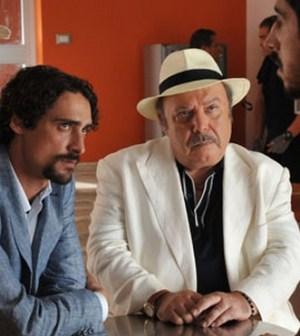 Lino Banfi in una scena de Il Commissario Zagaria