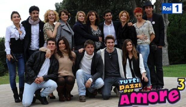 Foto del cast di tutti pazzi per amore 3