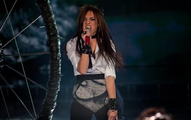 Foto Jessica Mazzoli canta a X Factor 5