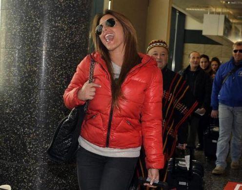 Foto Guendalina Tavassi in partenza per l'Isola dei Famosi 9
