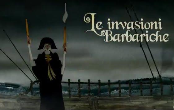 Locandina invasioni barbariche