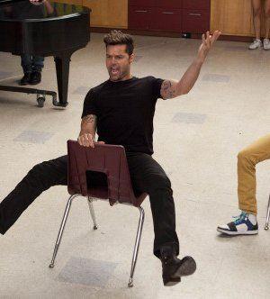Ricky-Martin-Glee-cast