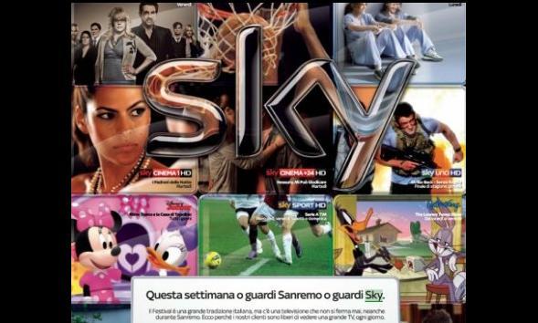 pubblicità sky