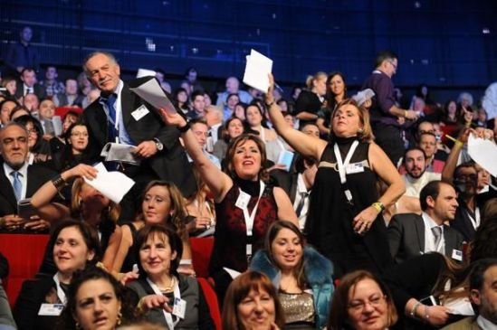 La giuria Demoscopica di sanremo 2012