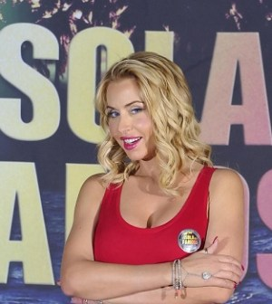 l'attrice Valeria Marini