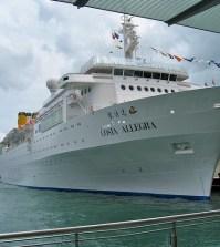 avaria nave Costa Allegra
