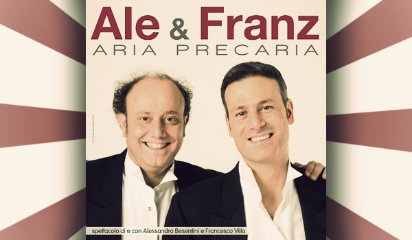 Convince lo spettacolo di Ale e Franza