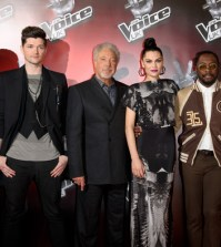 foto giuria prima edizione di the voice uk