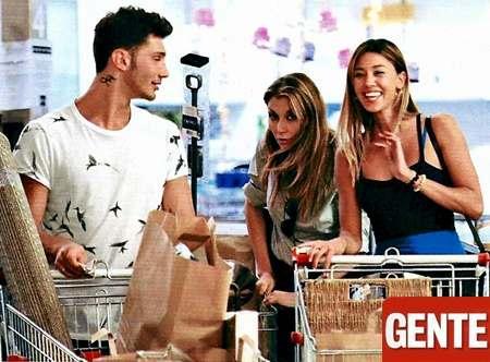 Belen e Stefano shopping per la casa