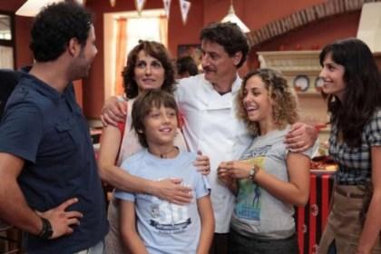 foto sul set di benvenuti a tavola su canale 5