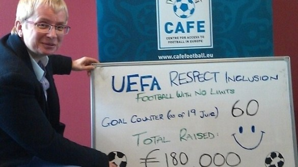 Uefa Respect Inclusion: solidarietà a Euro 2012