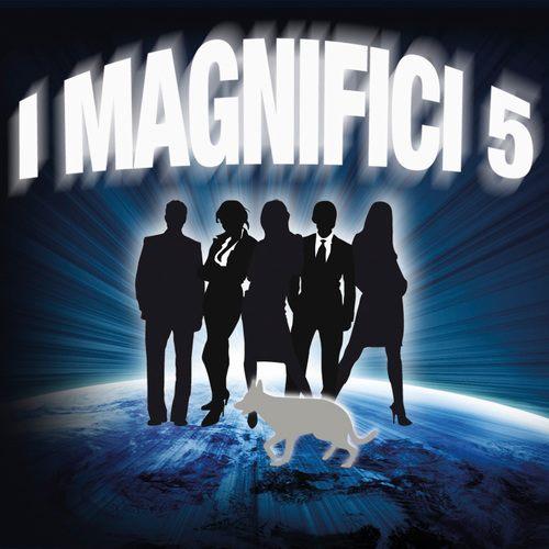 la locandina de i magnifici cinque
