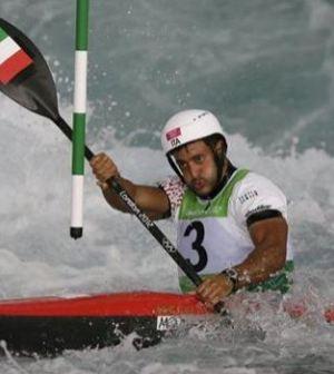 Foto di Daniele Molmenti Olimpiadi Londra 2012