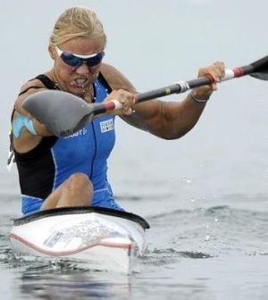 Foto di Josefa Idem alle Olimpiadi di Londra 2012