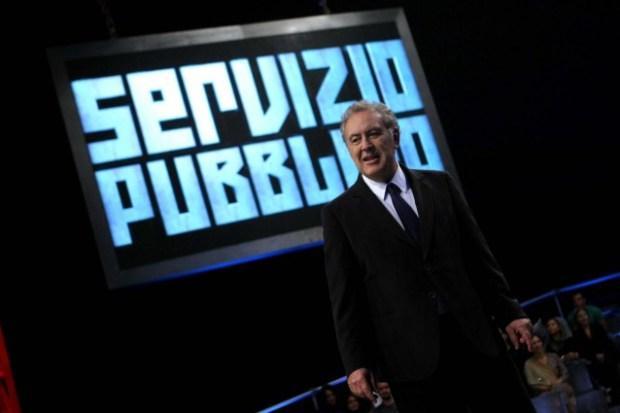 Michele Santoro torna con Servizio Pubblico