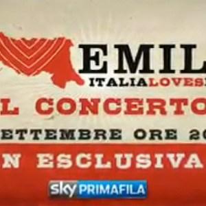 italia loves emilia concerto beneficenza terremotati sky primafila dieci euro