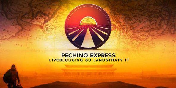 Logo della diretta di Pechino Express