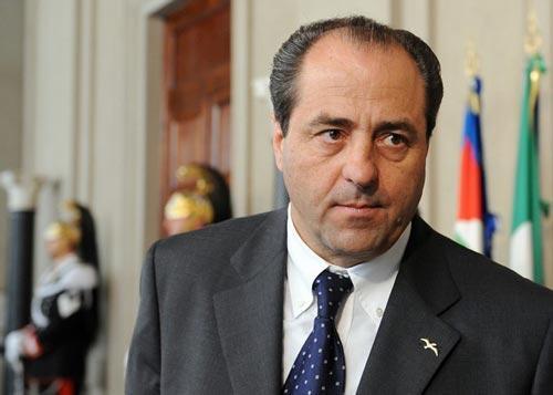 Il leader di IDV Antonio Di Pietro
